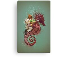 The Water Warrior Canvas Print