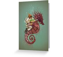 The Water Warrior Greeting Card