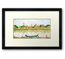 RIVERVIEW Framed Print