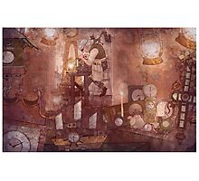 The Clockmaker Photographic Print