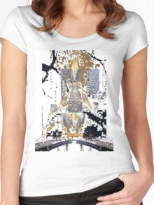 From Paris to New York Women's Fitted Scoop T-Shirt