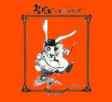 The White Rabbit - ALICE IN WONDERLAND - Ralph Steadman Kids Clothes
