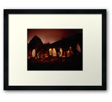 Penguin House Framed Print