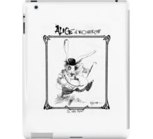 The White Rabbit - ALICE IN WONDERLAND - Ralph Steadman iPad Case/Skin