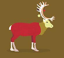 Fancy Reindeer by martinestella