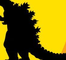 Godzilla Road Sticker