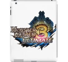 Monster Hunter Ultimate 3 iPad Case/Skin