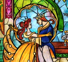 Tale as Old as Time Sticker