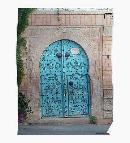 Medina Door Poster