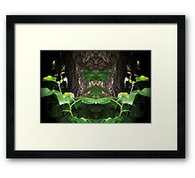 No one leaves without any sunshine Framed Print