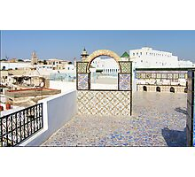 Roof Terrace Photographic Print