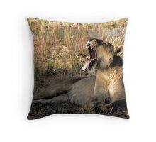 Boring...! Throw Pillow