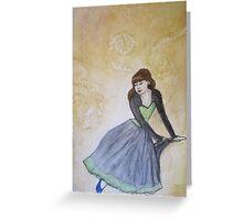 Serenity and Swirls Greeting Card