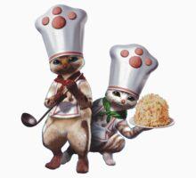 Monster Hunter - Felyne Chefs Kids Clothes