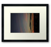 Dublin Skyline at Dawn  Framed Print