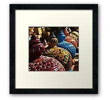 Gharyan Pottery Framed Print