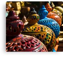 Gharyan Pottery Canvas Print