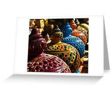 Gharyan Pottery Greeting Card