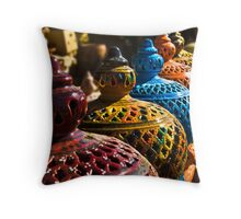 Gharyan Pottery Throw Pillow