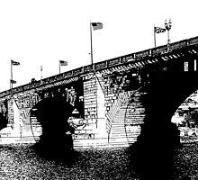 London Bridge Stamp by tvlgoddess