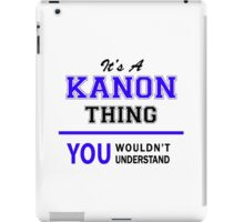 It's a KANON thing, you wouldn't understand !! iPad Case/Skin