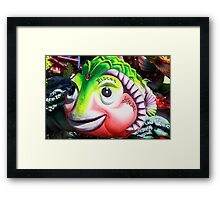 The carnival fish Framed Print