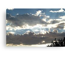 """Clouds Eye"" Canvas Print"