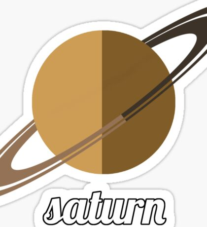 Planets - SATURN Sticker