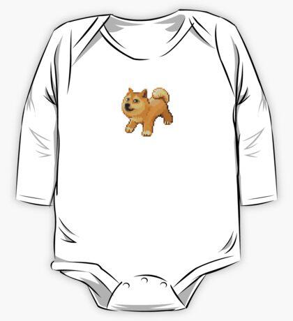 Pixel Doge Wow One Piece - Long Sleeve
