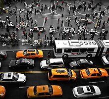 Union Square, NY by Suzanne  Opitz