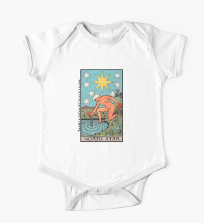 The (North) Star Tarot Card One Piece - Short Sleeve