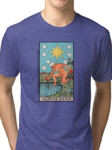 The (North) Star Tarot Card Tri-blend T-Shirt