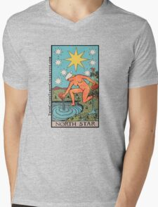 The (North) Star Tarot Card Mens V-Neck T-Shirt