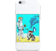 Stormtrooper griddle! iPhone Case/Skin