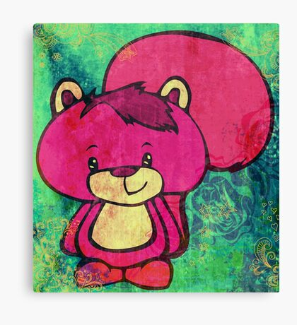 Mr. Squiggles Canvas Print