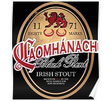 Kavanagh Clan Vintage Irish Stout Poster