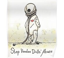 Stop Voodoo Dolls' Abuse Poster