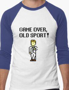 Game Over, Old Sport! Men's Baseball ¾ T-Shirt