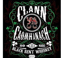 Kavanagh Clan Vintage Bourbon Whiskey Photographic Print