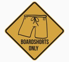 Board shorts only. Surf, good vibes, sign. by 2monthsoff