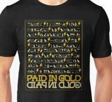 Paid in Gold Hieroglyphs Unisex T-Shirt