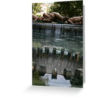 Sculpture Fountain Greeting Card