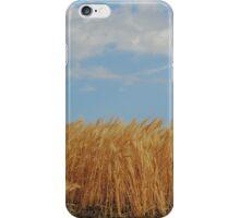 Wheat in the wind iPhone Case/Skin