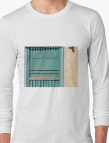 Haveli Shutters, Rajasthan Long Sleeve T-Shirt