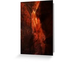 Canyon Mystery Greeting Card