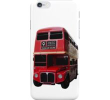 Iconic Red Routemaster Bus iPhone Case/Skin