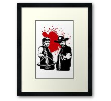 The Dead Saints Framed Print