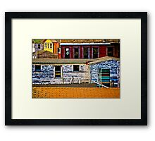 The Battery Framed Print