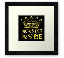 Monster Inside Framed Print