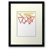 Stardom Geometry Framed Print